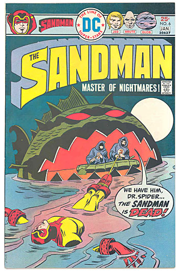 Sandman by Jack Kirby & Joe Simon