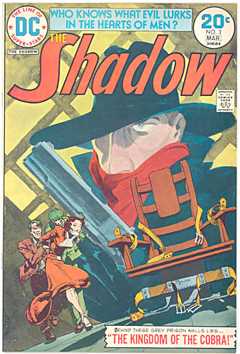 The Shadow comics