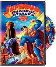 Superman animated movie Blue-Ray on DVD