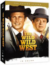 Wild Wild West Season 2 on DVD