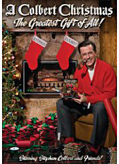 A Colbert Christmas on DVD