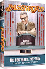 Password + Game Shows on DVD