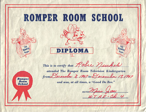Romper Room Pittsburg TV shows