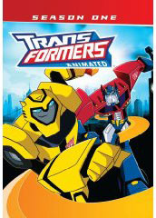Transformers Animated on DVD