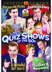 1950s game shows on DVD