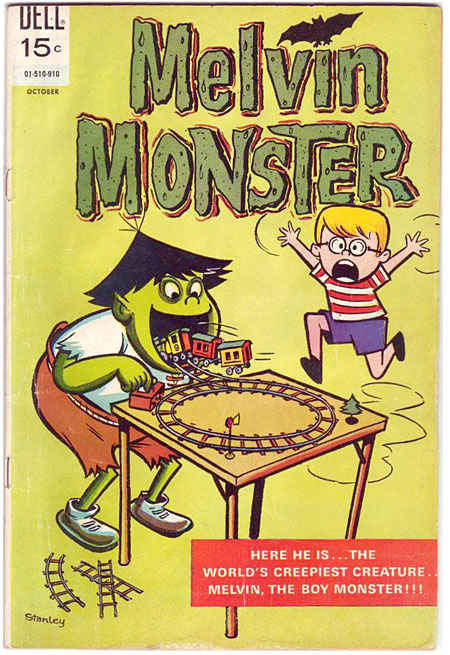 Melvin Monster comic book #10