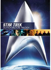 Star Trek movies on DVD