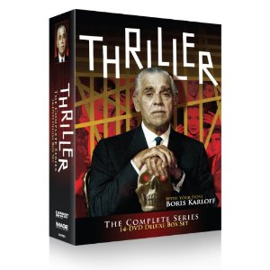 Thriller / TV show starring Boris Karloff on DVD