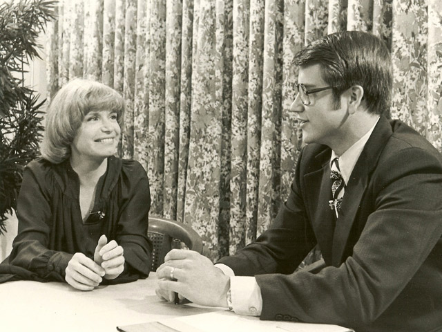 Jim Longworth & Bonnie Franklin