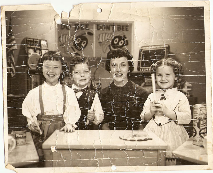 Romper Room Lancing Michigan 1957