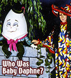 Los Angeles TV host in the 1970s / Baby Daphne the Witch