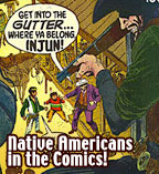 Native Americans in classic comic books