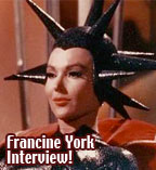 Francine York Interview : Classic TV star