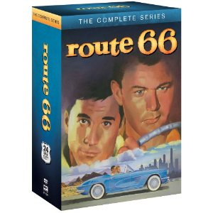 The TV Series that travelled from city to city across America :Route 66 on DVD