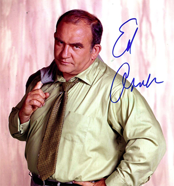 Ed Asner as Lou Grant
