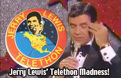 Jerry Lewis' Telethon Bloopers!