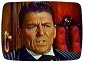 Ronald Reagan on TV