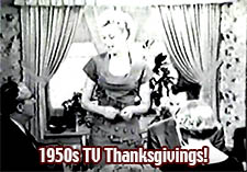 Thanksgiving Day TV 1950s