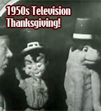1950s TV Thanksgivings