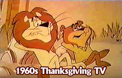 1960s Thanksgiving TV