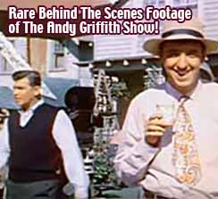 Rare Behind The Scenes Footage of The Andy Griffith Show!