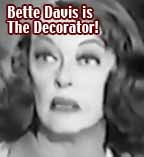 Bette Davis as The Decorator, failed TV pilot 1965