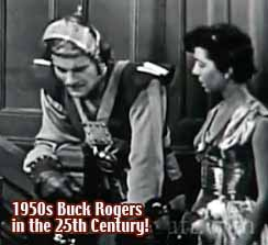 Buck Rogers in the 25th Century + 1950s tv show
