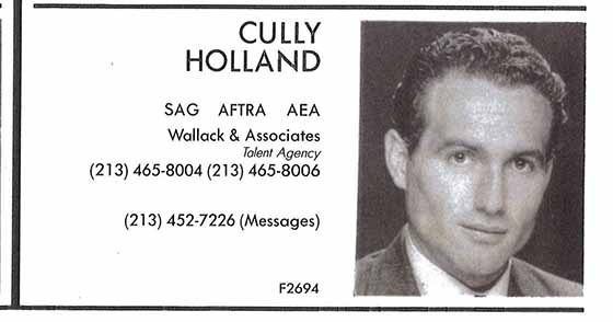 Cully Holland