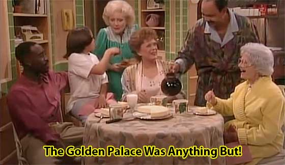 The Golden Palace : Flop Golden Girls Spinoff!
