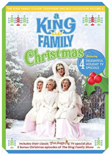 King Family Christmas on DVD