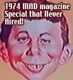 Mad Magazine TV Special never aired