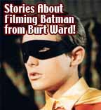 Burt Ward Talks Filming Batman