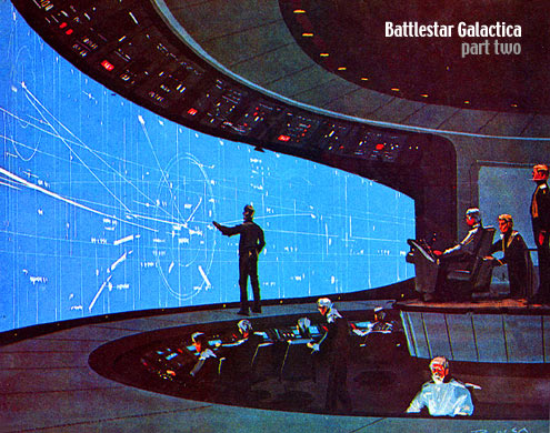 Battlestar Galactica : The original series