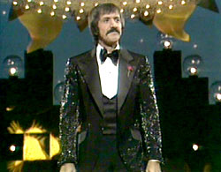 Sonny Bono on stage