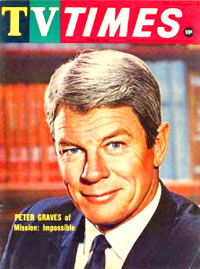 Peter Graves 1967 Tv