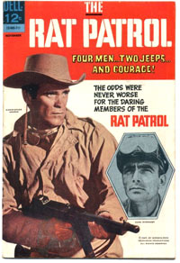 Rat Patrol Comic Book in 1967
