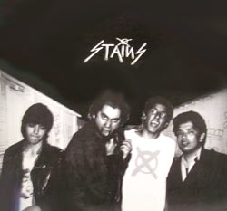 1980s punk band the Stains